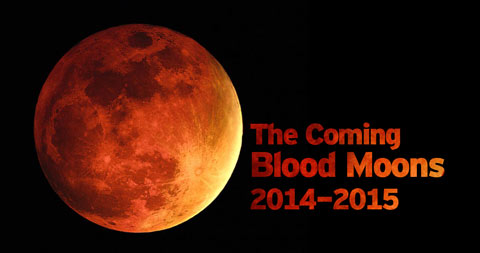 This means that the blood moons of 2014-2015 will be a time of war or ...